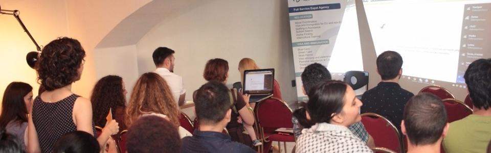 workshop-job-search-prague-crowded