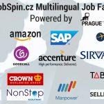 """I'm Not a Tourist in Prague"" – JobSpin.cz Multilingual Job Fair, April 2017"