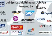 """I'm Not a Tourist in Prague"" – JobSpin.cz Multilingual Job Fair, April 2017"