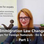 Czech Immigration Law Amendment Explained