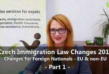Czech Immigration Law Amendment Explained