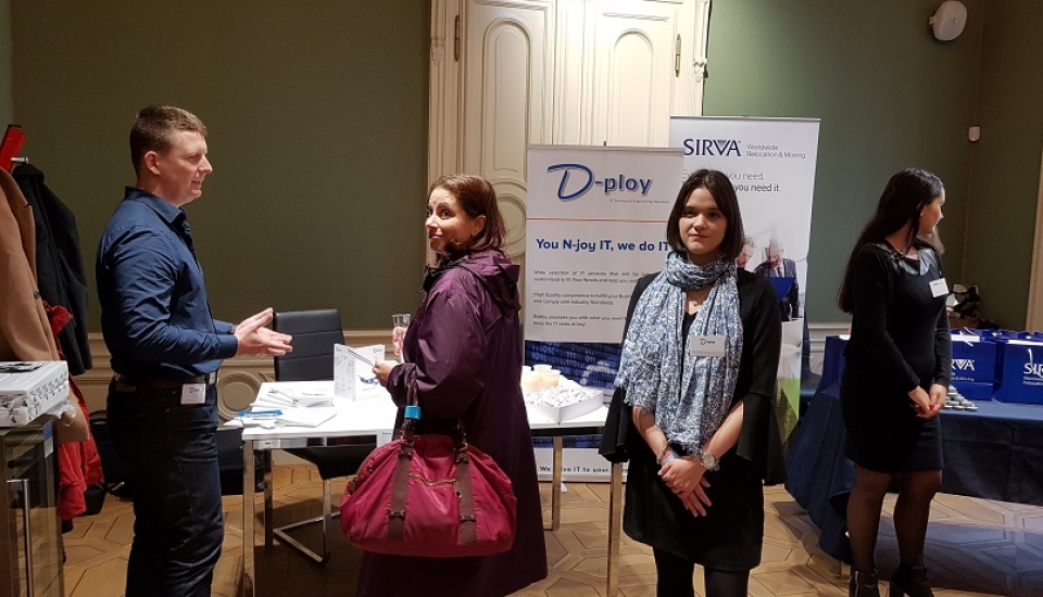 d-ploy at jobspin job fair prague