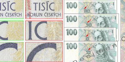 ČNB Warns That Counterfeit Money Appearing In Moravia May