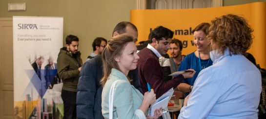 Nothing Beats a Face-to-face Meeting. More than 700 International Job-seekers and Employers Meet at the Jobspin Job Fair in Prague