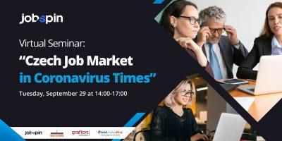 "29/9 ""Czech Job Market in Coronavirus Times"", Virtual Seminar"